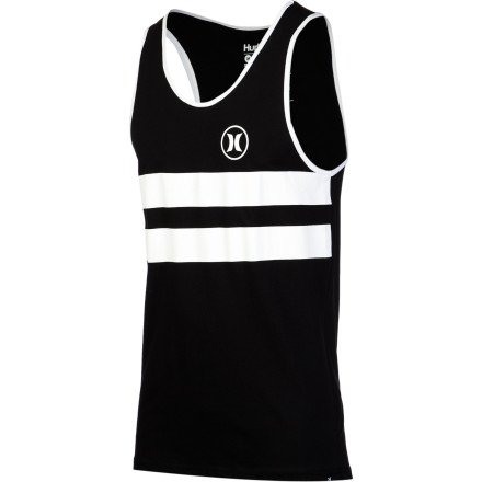 Hurley Mens Block Party Tank