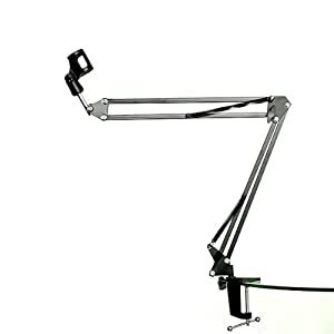 Cheap NEEWER Microphone Suspension Boom Scissor Arm Stand