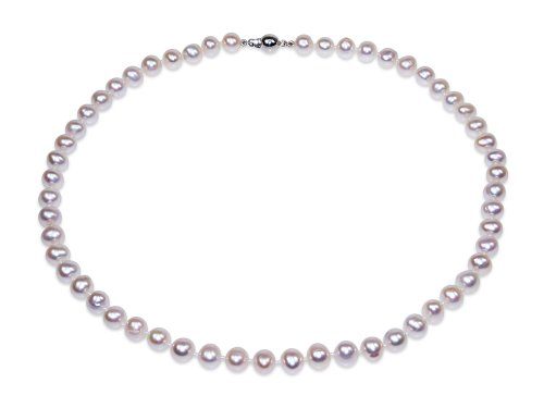 Marie - White Pearl Necklace