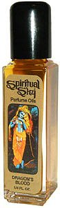 Dragon's Blood - Spiritual Sky Scented Oil - 1/4 Ounce Bottle