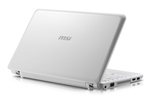 MSI U210-006US 12.1-Inch White Netbook - 5 Hour Battery Life