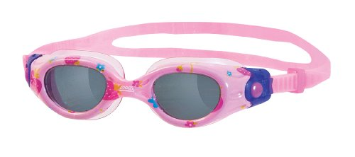 Zoggs Girl's Little Comet Strawberry Swimming Goggles - Pink, 2-6 Years