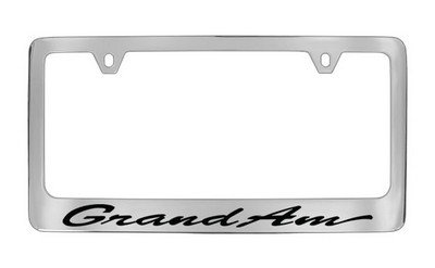 Pontiac Genuine License Frame Factory Custom Accessory For GRAND AM (Pontiac Grand Am Customs compare prices)