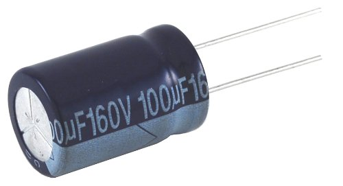 CAPACITOR ALUMINUM ELECTROLYTIC 2.2UF 160V 20% RADIAL LEAD