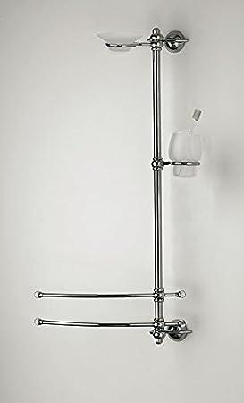 enchères A mural H.80cm p.12cm lavabo Accessoires WC salle de bain Produit italien style classique