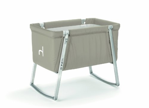 New Baby Home Dream Portable Cot, Sand