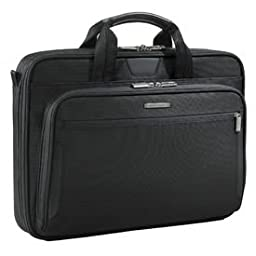 Briggs & Riley @Work Large Slim Brief (Black)