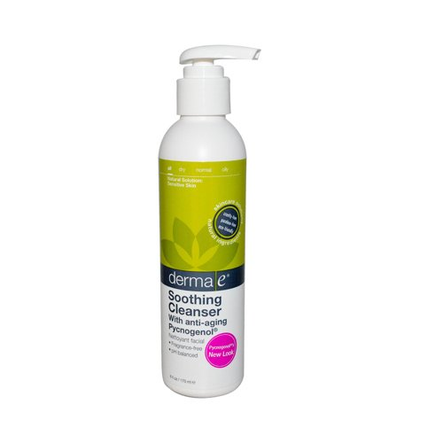 Derma E Soothing Cleanser with Pycnogenol 6 Oz