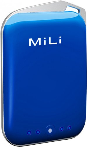 Mili Hba-10-Blue Power Crystal External Battery Power Bank 2000 Mah For Iphone, Ipod, Kindle, Psp, Blackberry And Other Mobile Devices