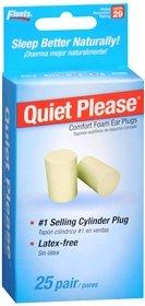 Flents Quiet Please Foam Ear Plugs 25 Pair,