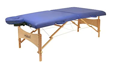 Master Massage Zentouch Portable Massage Table, Blue, 27 Inch