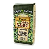 Mate Factor Organic Yerba Mate, Original Fresh Green, 12 Ounce (Tamaño: 12 oz)