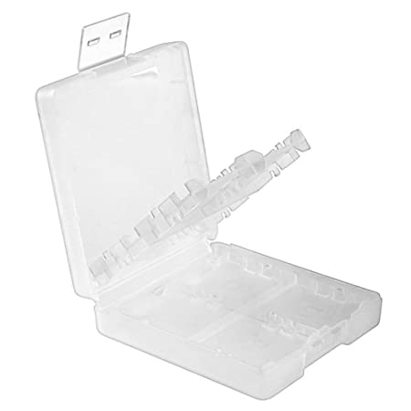 eForCity Nintendo DS / DS Lite / DSi / DSi LL / XL Game Card Case 16-in-1, White
