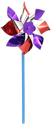 "Rhode Island Novelty of 6"" Pinwheels, 12-Pack"