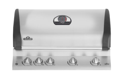 Find Bargain Napoleon BIM605RBI Mirage 605 Built-In Natural Gas Grill with Infrared Rear Burner