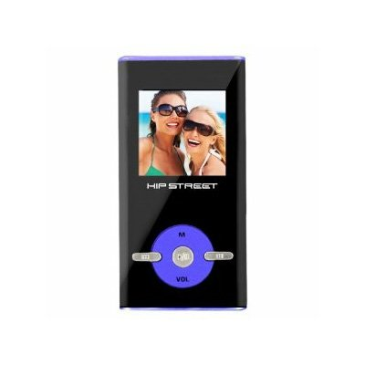Hip Street Video MP3 Player 4GB with Built-In Speaker, 16 hrs of video