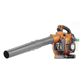 Husqvarna 125BVX 28cc 2-Stroke Gas Powered 170 MPH Handheld Leaf Blower/Vacuum