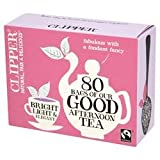 Clipper Fairtrade Good Afternoon Tea 80 Bag x 1