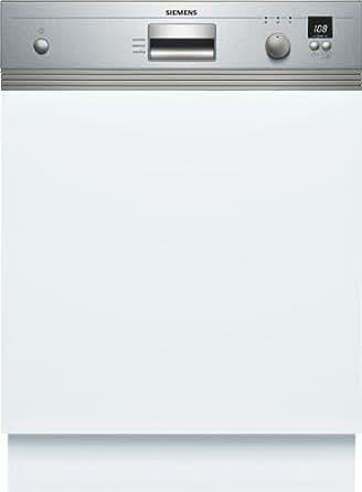 Siemens SE55E557EU Teilintegrierbarer Geschirrspüler / AAA / 13 L / 1.15 kWh / 59.8 cm / Edelstahl / VarioSpeed