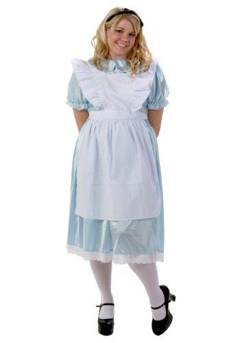 Halloween 2017 Disney Costumes Plus Size & Standard Women's Costume Characters - Women's Costume CharactersPlus Size Alice Costume