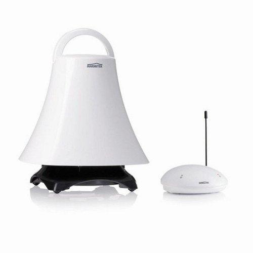 Marmitek-Speaker-Anywhere-350-Funklautsprecher-Set-Design-Lautsprecher-bis-100m-Reichweite-spritzwassergeschtzt-AUX-MP3-360-Abstrahlwinkel