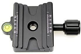 naluo FITTESTPHOTO 32mm39mm Double Clamp for Arca Slidefix Quick Release Plate RRS Arca-Swiss SUNWAY