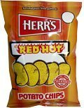 Herr's - Red Hot Potato Chips, Pack of 24 bags by Herr Foods Inc.