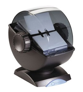 Rolodex business card holder great price rolodex 67242 for 4001 rolodex 67242 rolodex covered rotary card file swivel 200 sleeves 400 card cap bkske best reheart Choice Image
