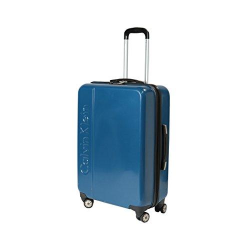 Calvin Klein Valigie Trolley 24'' 4 Wheels, 65 Litri, Acqua Splash
