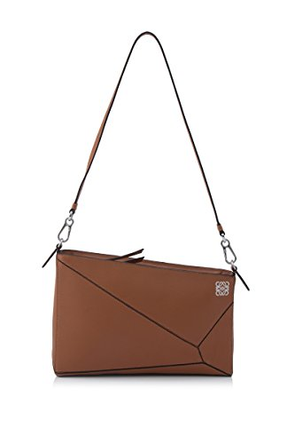 loewe-womens-32289m872530-brown-leather-shoulder-bag
