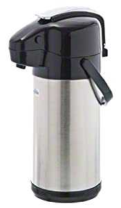 Update International NVSL-25BK 6-Pack Sup-R-Air Stainless Steel Air Pot with Black Lever Top, 84-Ounce at Sears.com