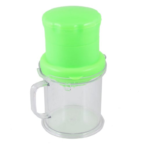 Fruits Orange Press Squeezer Plastic Manual Juicer 400Ml Green Clear front-1048491