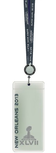 Official Super Bowl Xlvii (47) Lanyard W/ Ticket Holder And