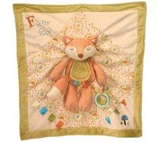 Douglas Toys Playtivity Fox Activity Baby Blanket - 1
