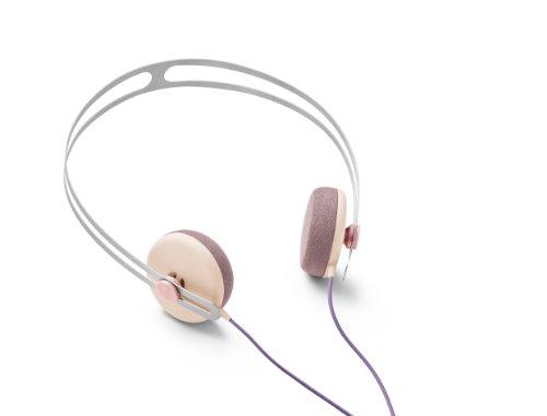 Aiaiai Stainless Steel Tracks Headphone With Mic Blush