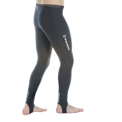 Buy Low Price Tenn Cycle Cycling Leggings Thermal Tights with Pad Mens (B006GQUYIA)