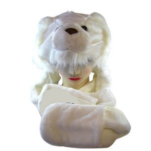 polar bear hat for adults