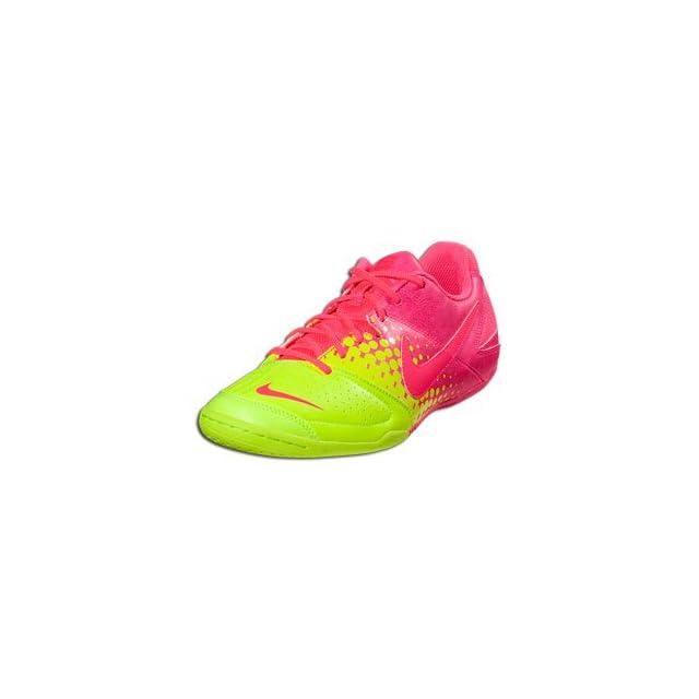 0cd1b4dd2 Mens Nike5 Elastico Indoor Soccer Shoe Pink Flash Volt Pink Flash Size 8.5