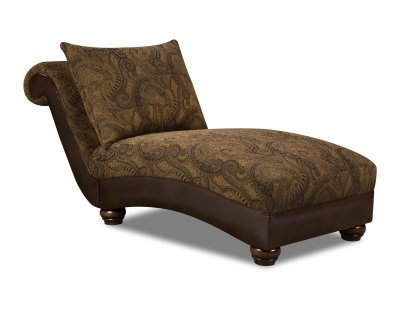 Zephyr Vintage Chaise , Made in USA