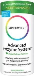 Rainbow Light Advanced Enzyme System 60 Vegetarian Capsules (Pack Of 3)