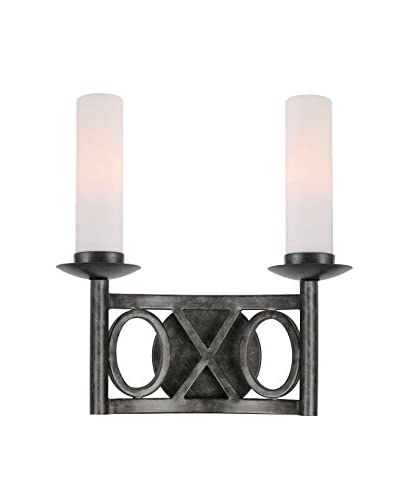 Gold Coast Lighting Odette 2-Light Wall Scone, English Bronze
