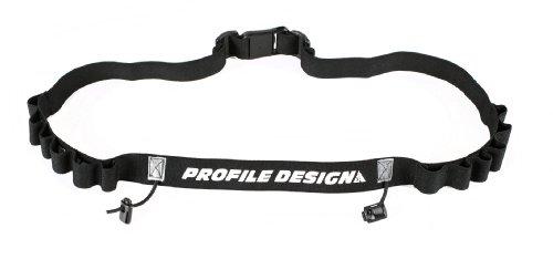Profile Design Gel Race Number Belt (Black, One Size) (Profile Design Race Belt compare prices)