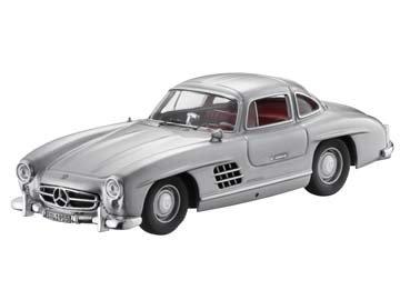 300 SL, W 198 I, 1954-1957 silber, Premium Collectibles, 1:43