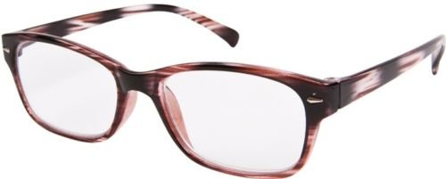QUALITY WAYFARER STYLE READING GLASSES TORTOISESHELL WITH POUCH +2.5 OXFORD