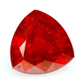 Natural 2.89 Carat Rich Red Ruby, Earth Mined Natural Loose Ruby, Natural Loose Gemstone
