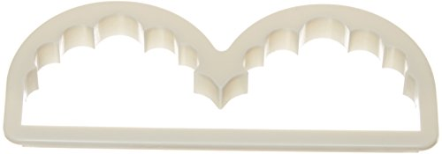 Fat Daddio's Hanging Scalloped Frill Cutter, 5-Inch by 1-3/4-Inch , Blister Pack