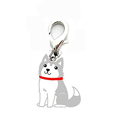 Anboo Pet Dogs Collar Charms Necklace Pendant ID Tag Disc Disk Pet Identification Tags