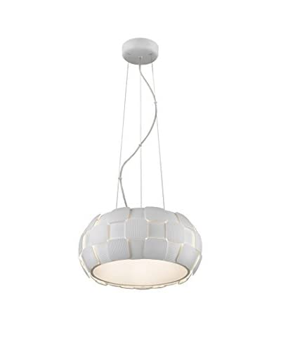 Access Lighting Layers 5-Light 18 Pendant, White