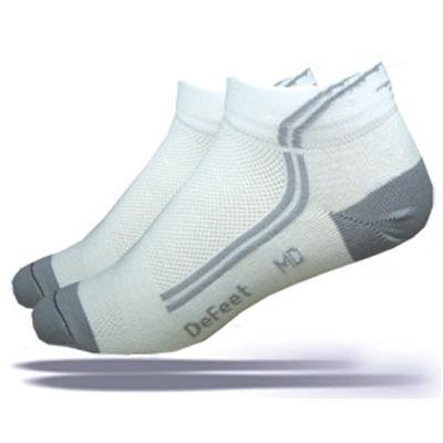 Buy Low Price DeFeet Speede DeLine Gray Cycling/Running Socks – SPDDLG (B001F5A75W)