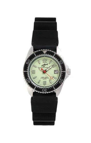 Chris Benz One Lady CBL-N-SW-KB Reloj elegante para mujeres Reloj de Buceo